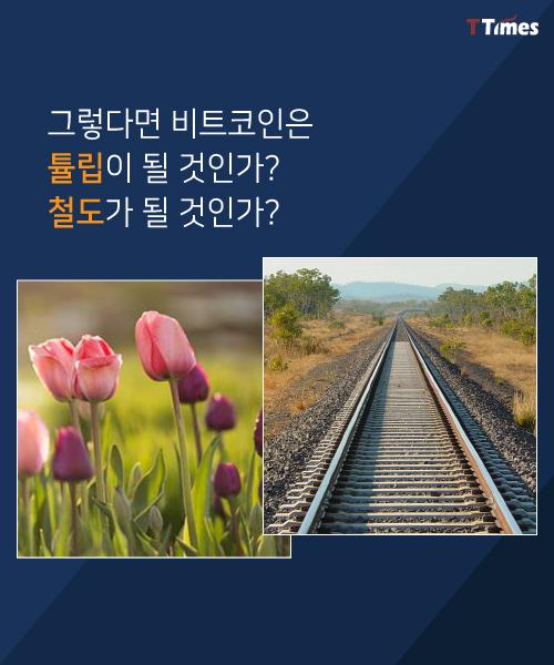 [카드뉴스]비트코인! '튤립'이 될까 '철도'가 될까