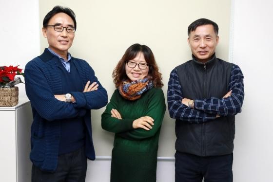 에버영피플에 근무하는 (좌측부터) 구광서 매니저, 김혜숙 매니저, 이원호 매니저 /사진=임성균 기자