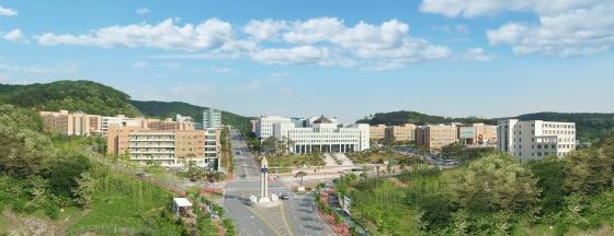 단국대 죽전캠퍼스 전경
