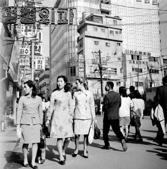 1969년 명동거리 /사진=국가기록원