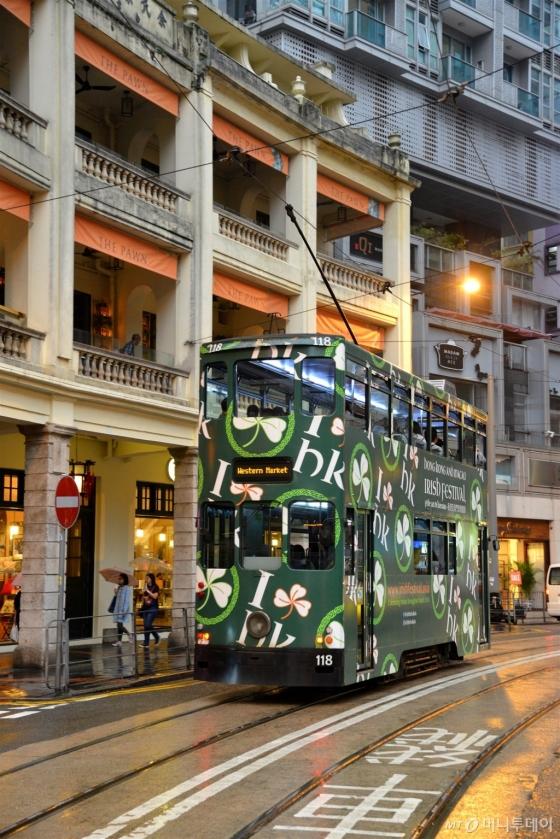 홍콩의 도심 구석구석을 탐방할 수 있는 명물 '트램'. /사진제공=홍콩관광청