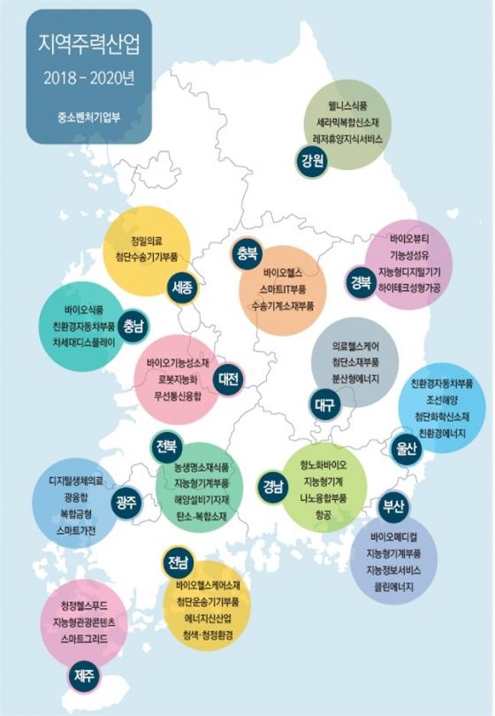 지역 특화산업에 2500억 투입…스타기업 1000개 육성
