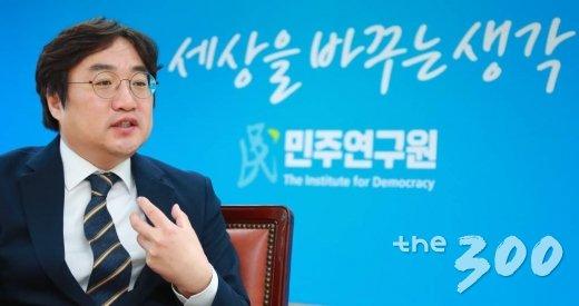 김현성 민주연구원 부원장/사진= 이동훈 기자