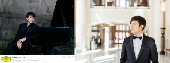 피아니스트 조성진(좌)과 선우예권(우)/사진제공=크레디아, 세종문화회관