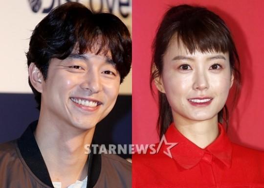 배우 공유(왼쪽)와 정유미 /사진=스타뉴스