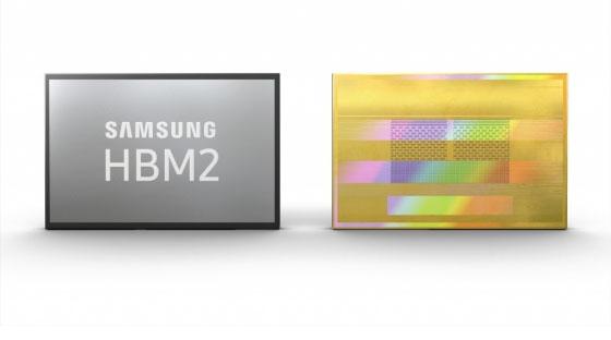 삼성전자 '2세대 8GB HBM2 D램' 이미지 /사진제공=삼성전자