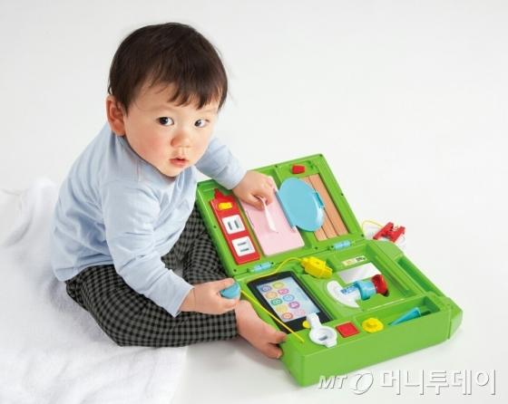 일본 엄마 필수품 '만능놀이' 인기조짐..'국민완구'되나