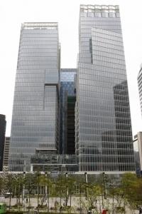통합미래에셋대우의 본사인 센터원빌딩