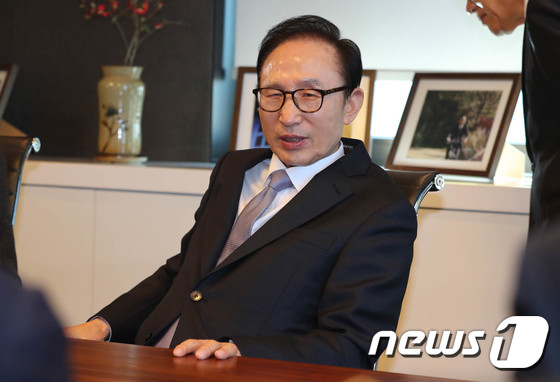 이명박 전 대통령. 2018.1.3/뉴스1 © News1 성동훈 기자