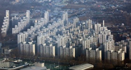 송파구 아파트 단지 전경./사진=뉴스1<br />