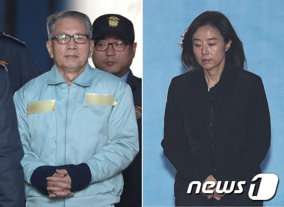 [사진]김기춘-조윤선 '다시 구치소로'