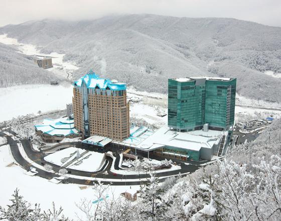 강원랜드 컨벤션 호텔 전경. /사진제공=강원랜드