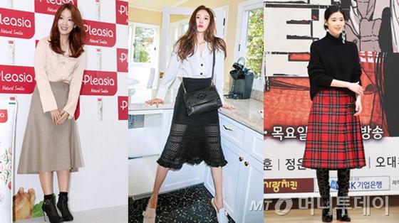 박신혜, 선미, 정은채/사진=머니투데이DB, 그라치아