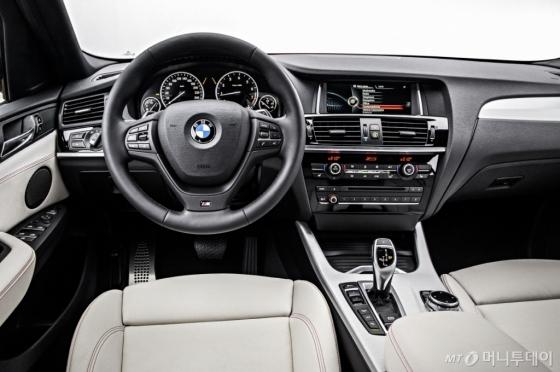 BMW 뉴 X4 실내 /사진제공=BMW코리아