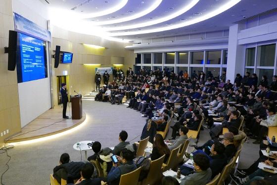 지난 1월25일 서울 잠실 롯데월드타워 31층 오디토리엄에서 열린 P2P금융업계 세미나/사진제공=페이게이트