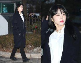레드벨벳 아이린, 수수한 패션에도 빛나는 '미모'