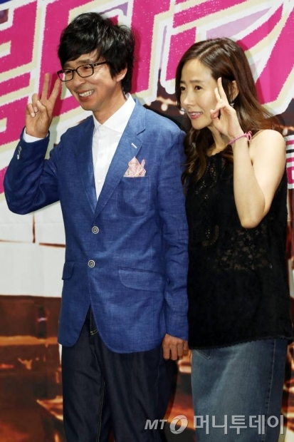김국진(왼쪽)과 강수지. /사진=머니투데이 DB