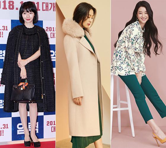 가수 이정현, 배우 송윤아, 서예지/사진=머니투데이 DB, 럭셔리, 올리비아로렌