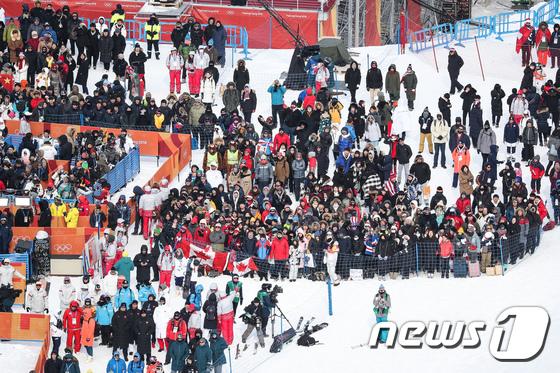 [사진]한파 속 올림픽 열기 후끈