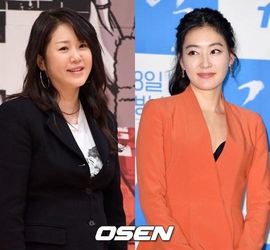 배우 고현정(왼쪽)과 박진희. /사진제공= OSEN