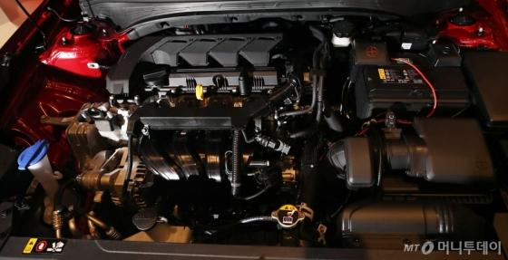 [사진]스마트스트림 G1.6 엔진 최초 탑재된 '올 뉴 K3'