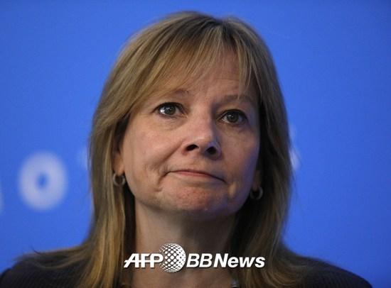 메리 바라 GM CEO(최고경영자)/AFPBBNews=뉴스1