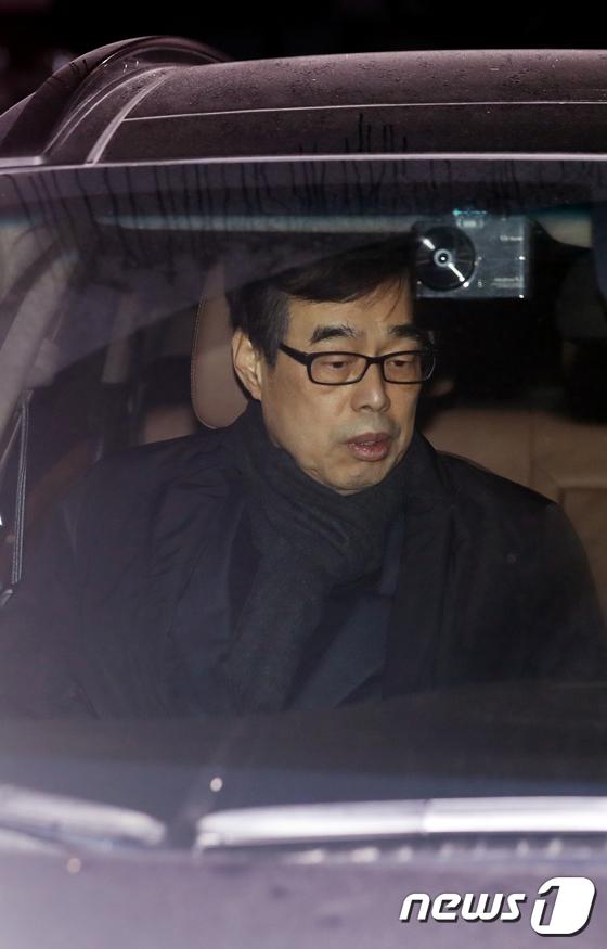 [사진]'MB 측근' 장다사로 전 靑 총무기획관 영장 기각