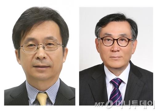 강형철 교수(좌측), 김상균 전 사장/사진=방송통신위원회 제공