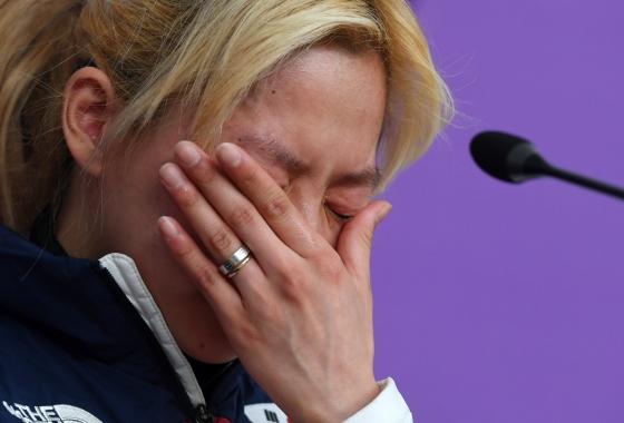 [평창 줌인] 앞만 보고 달린 죄..김보름 향한 비난여론 가혹하다