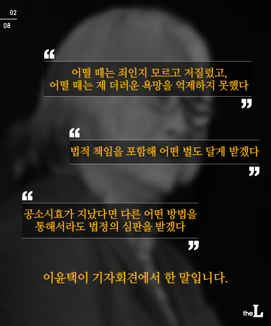 [카드뉴스] '더러운 욕망' 이윤택, 처벌할 수 있을까?