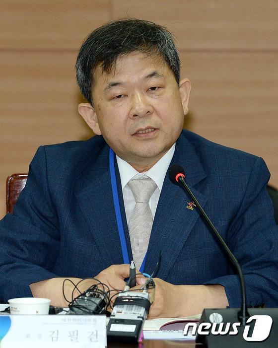 김필건 전 대한한의사협회장 2017.6.20/뉴스1 © News1 박세연 기자