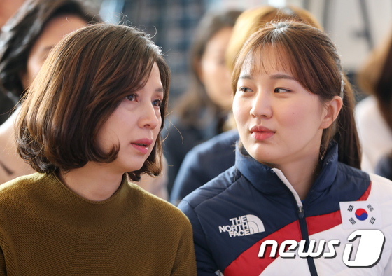 [사진]박승희 '엄마와의 대화'