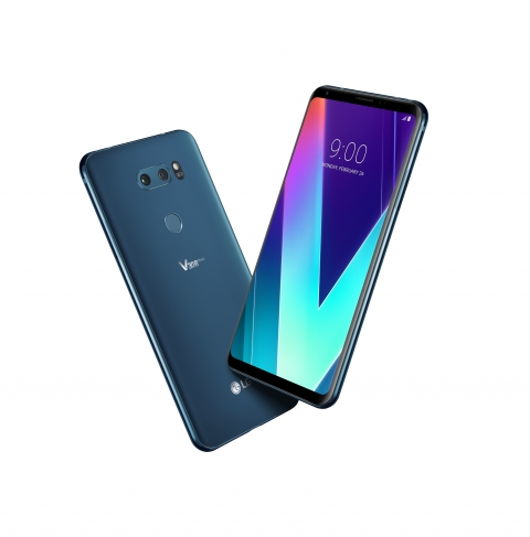 LG전자 'V30S 씽큐' 뉴 모로칸 블루/사진=LG전자