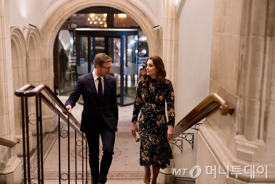 케이트 미들턴 영국 왕세손빈/사진제공=올라 카일리(Orla Kiely)