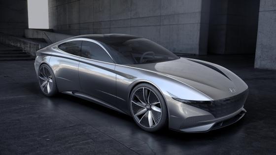 현대차 콘셉트카 'Le Fil Rouge'(르 필 루즈·HDC-1)/사진제공=현대차
