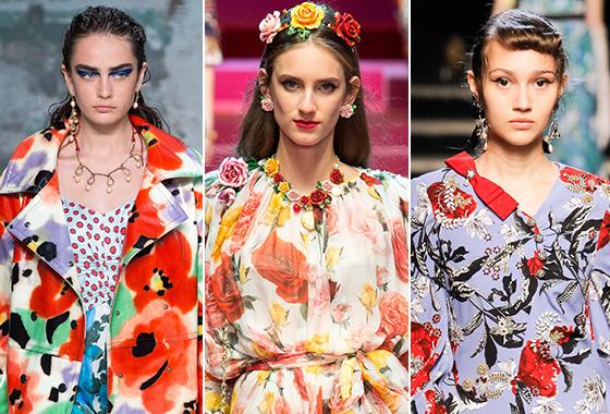 /사진=Marni, Dolce & Gabbana, Erdem