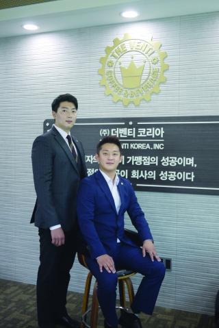 박수암(좌) 최준경 대표(우)/사진제공=더벤티코리아