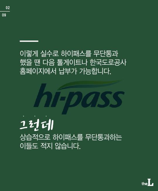 [카드뉴스] 하이패스로 '쌩'…얌체족 '형사처벌'