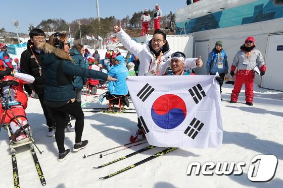 [평창] 신의현, 크로스컨트리 男 15㎞ 좌식 값진 銅!.. 한국 첫 메달