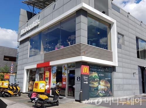 서울시내 한 맥도날드 매장 전경 /사진=이재은 기자