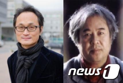 한국예술종합대학교 연극원 소속 김태웅 교수(왼쪽)와 황지우 교수/사진=뉴스1