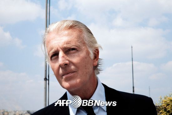 위베르 드 지방시(Hubert de Givenchy)/AFPBBNews=뉴스1