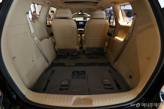 [사진]'더 뉴 카니발'의 트렁크 공간