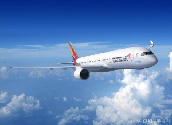 아시아나항공 'A350-900' 항공기/사진=아시아나항공