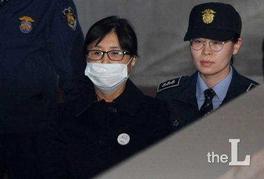 박근혜정부 국정농단 '비선실세' 최순실씨
