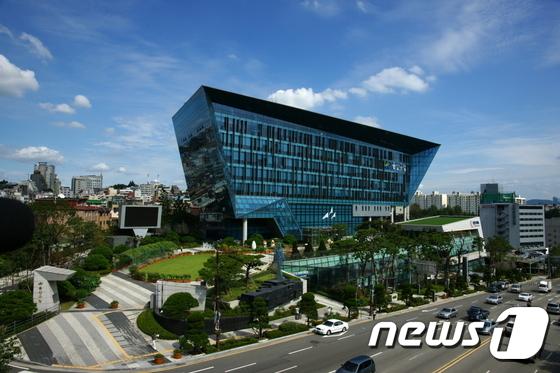 용산구청 전경(자료사진)© News1