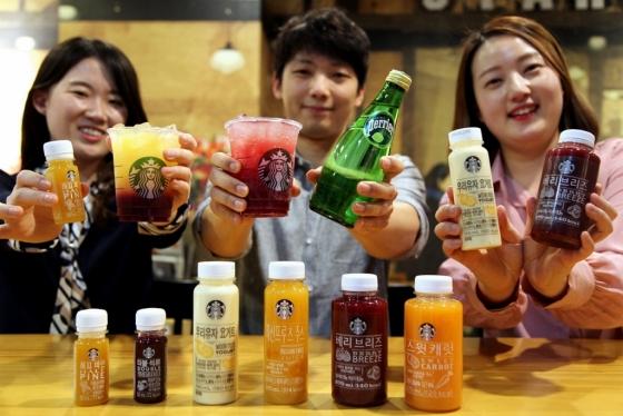 오는 15일 출시될 스타벅스 병 음료 신제품 /사진제공=스타벅스커피 코리아