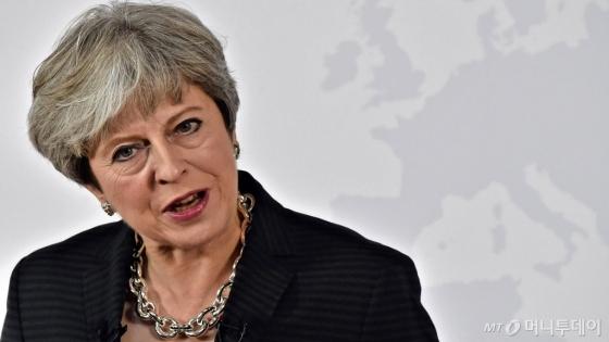 테레사 메이 영국 총리. /AFPBBNews=뉴스1