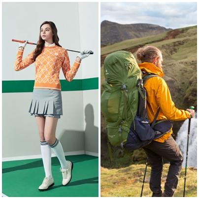 슈페리어(왼쪽)와 도이터 광고 이미지/사진제공=금강제화
