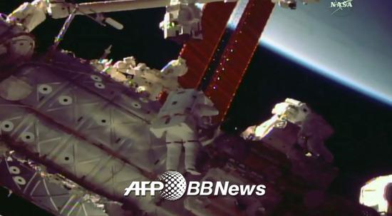 국제우주정거장. /AFPBBNews=뉴스1
